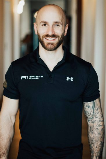 Personal Trainer R1 Sports Club Costantino Trebes